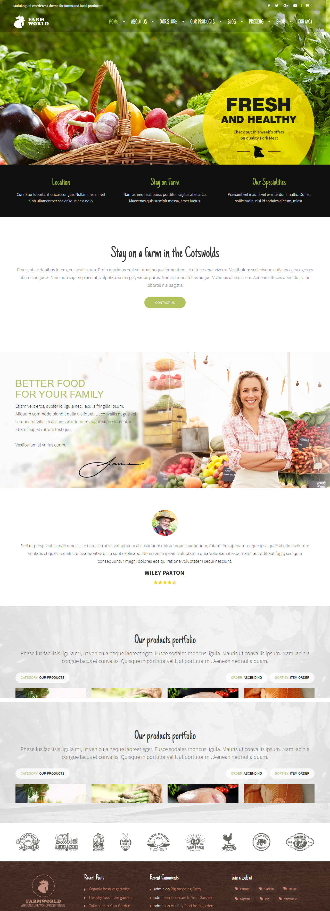 web design services in pune Web Design Services in Pune FARMWORLD WORDPRESS THEME