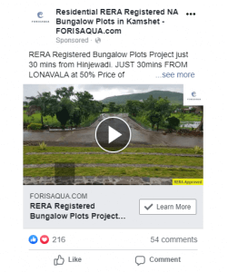 Forisaqua Facebook ads
