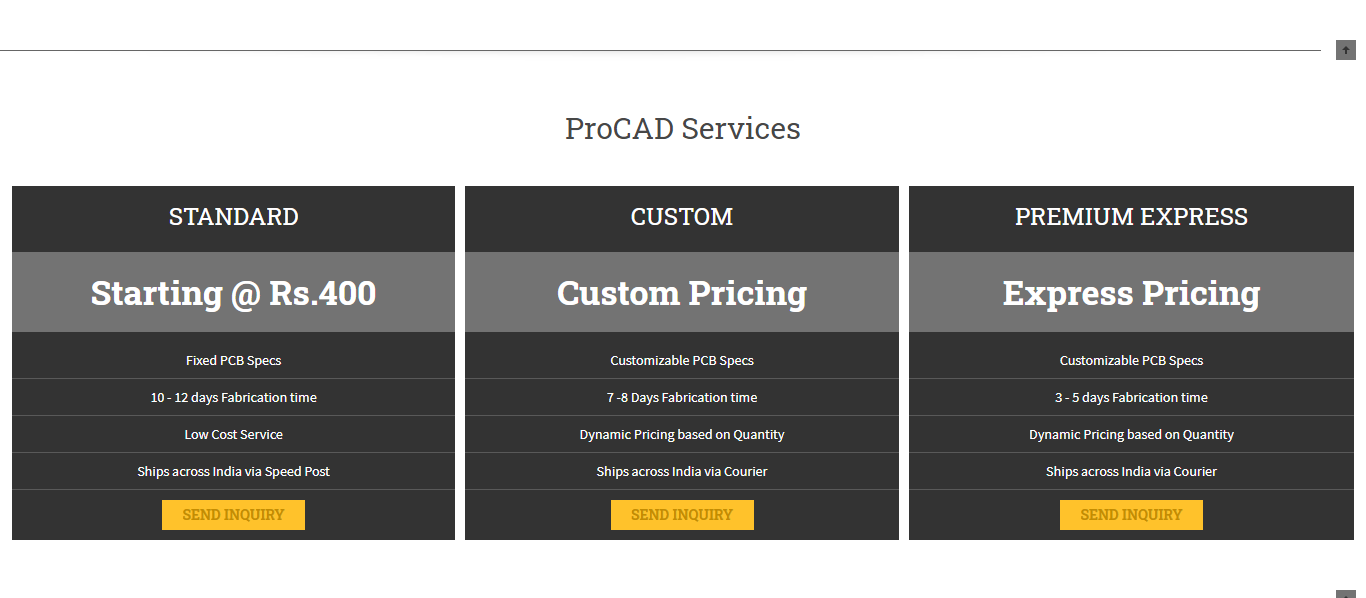 Procad.in Procad services